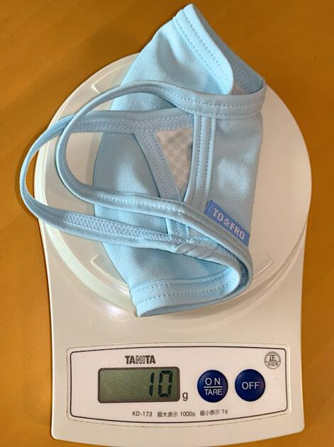 真夏の夏マスクの重さ