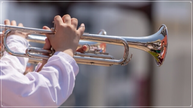 吹奏楽部の応援