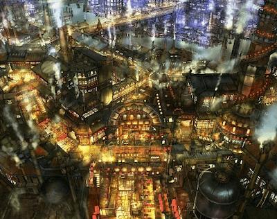えんとつ町のモデルは渋谷