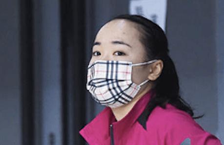 伊藤美誠のマスク