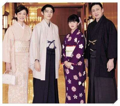 市川家の家族写真 画像