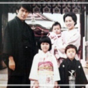 松たか子 子供の頃 家族 画像