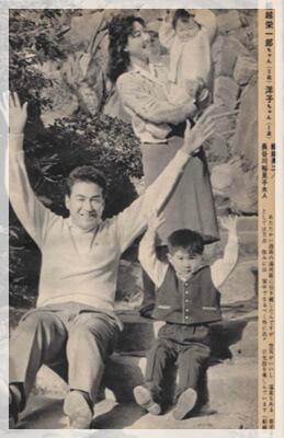船越英一郎 家族 画像