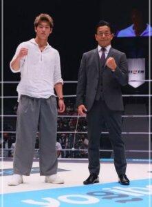 三浦孝太と榊原CEO画像