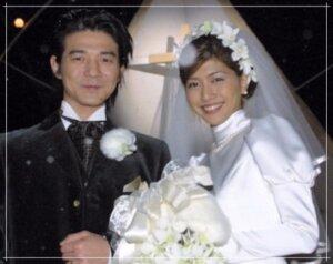 内田有紀と吉岡秀隆の結婚式