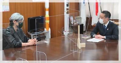 宮田裕章 内閣来訪 画像