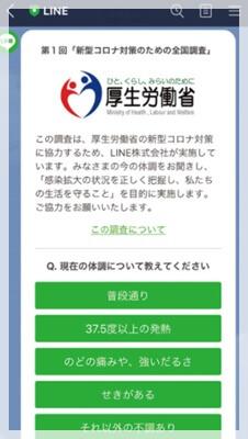 宮田裕章コロナアンケート画像